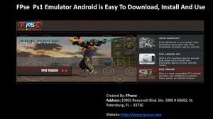 ps1 emulator apk fpse psx emulators for android can be used to run almost all the