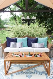 coffee table with cooler outdoor coffee table with beverage cooler shades of blue interiors