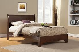 bedroom solid oak wood bed frames wooden bed base only grey wood