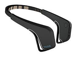 brain sensing headband muse the brain sensing headband black