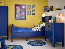 bedroom blue and yellow contemporary kids bedroom wonderful kids