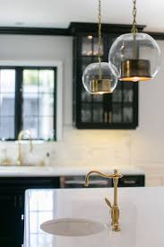 Pendant Lights Kitchen Island Contemporary Kitchen With Sonneman Tribeca 10in Pendant Light