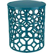 Teal Accent Table Green Accent Tables Living Room Furniture The Home Depot