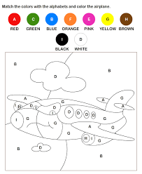 color by letter worksheets for kids plus tons of great printable
