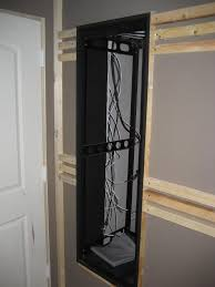 help with av closet rack through wall design avs forum home