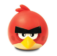 angry birds illumi mate colour changing light plastic red angry