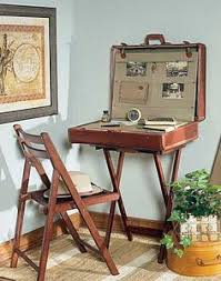 suitcase desk open props smaller i would love ths cool idea