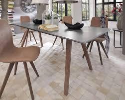 Esszimmergruppe Nussbaum Massivholz Beton Esstisch Stockholm Kaufen U2022 Slewo Com