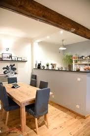 ouverture cuisine salon cuisine équipée ouverture sur l espace salle à manger salon idée
