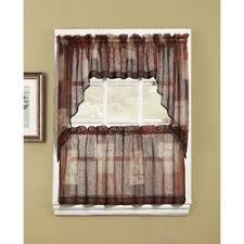 Kitchen Curtain Valance by No 918 Eden Inspirational Theme Kitchen Curtain Valance U0026 Reviews