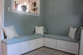 kitchen cabinet bench seat how to diy a banquette with cabinets kitchen pinterest