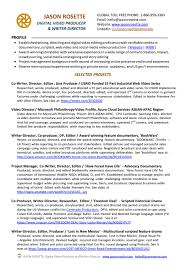 100 video resume script why this is an excellent resume