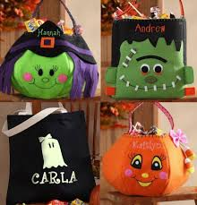 personalized trick or treat bags trick or treat bag kids don t leave home without it