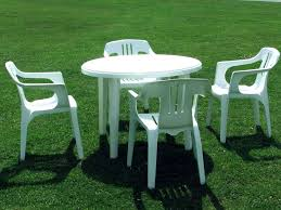 plastic table for plastic patio tables and chairs