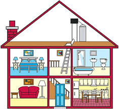 rooms in the house different rooms in a house clipart clipartxtras