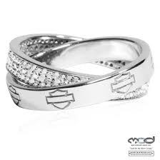 Harley Davidson Wedding Rings by Lovely Harley Diamond Wrap Ring From Mod Jewelry Harley