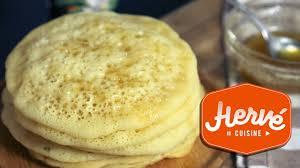 recette pancakes hervé cuisine recette crepes aux mille trous inratables baghrir