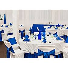 royal blue chair sashes tm royal blue wedding satin chair sashes
