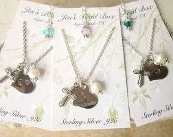 Children S Birthstone Jewelry U0027s First Communion Gift Children U0027s Birthstone