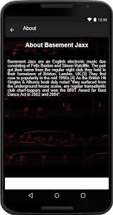 basement jaxx songs lyrics android apps on google play