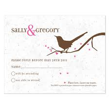 wedding reply cards song plantable reply card plantable seed wedding reply cards