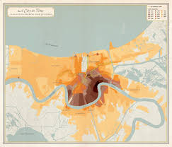 Restaurant Map New Orleans by Unfathomable City A New Orleans Atlas Rebecca Solnit Rebecca