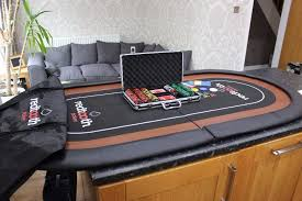 poker table top and chips redtooth poker table top and chip and card set in blackpool