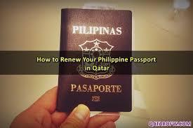 how to renew your philippine passport in qatar qatar ofw
