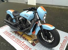 gulf racing motorcycle gulf scout