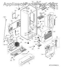 refrigerator condenser fan ge wr84x10055 condenser fan motor appliancepartspros com