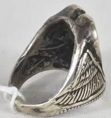 vintage sterling rings images Vintage sterling silver men 39 s ring jpg