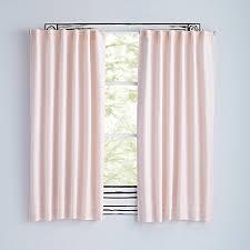 Fuchsia Pink Curtains Fresh Linen Light Pink Curtains The Land Of Nod