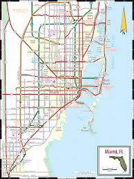 Florida Map Of Beaches by Miami U0026 The Beaches Map
