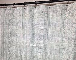 Curtains 90 Width 72 Drop Wide Shower Curtain Etsy