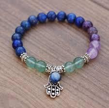 third eye 6th chakra gemstone bracelet u2013 injewels healing jewelry