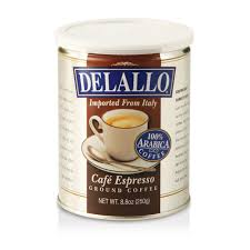 espresso coffee ground and instant espresso coffee from delallo