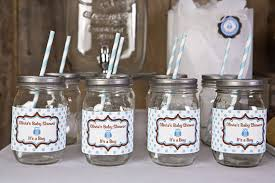 Baby Blue And Brown Baby Shower Decorations Blue And Brown Baby Shower Decorations Baby Shower By Modparty