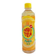Teh Yuzu jual fruit tea mn teh rasa yuzu btl 500ml pcs pcs