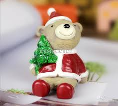 resin tree figures polyresin santa claus figurines mini