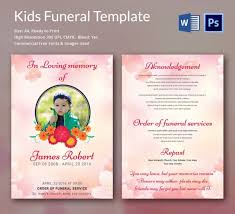 Elegant Funeral Programs Funeral Program Template 10 Free Word Psd Format Download