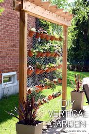 small garden how to make handy vertical planting areas the