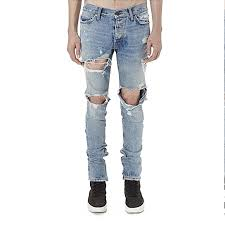 Mens Destroyed Skinny Jeans Ripped Destroyed Denim Promotion Shop For Promotional Ripped