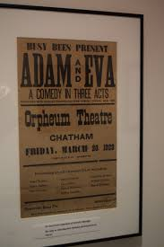 old posters recall early days of chatham orpheum theater cape