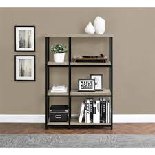 Room Divider With Shelves Elmwood Bookcase Room Divider Sonoma Oak Walmart Com