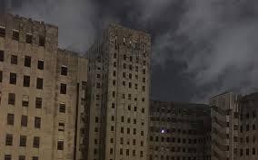 ghostly u0027christmas tree u0027 in abandoned charity hospital spooks
