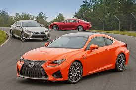 lexus turbo coupe 2016 lexus rc 200t and 350 f sport comparison drive review autoweb