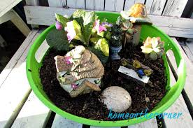 my simple fairy garden from the dollar tree u2013 home on the corner