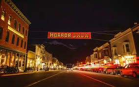 Best Halloween Light Show America U0027s Best Towns For Halloween Travel Leisure