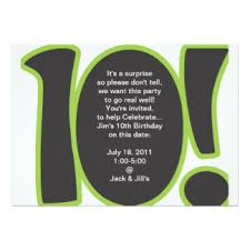 10 year old birthday party invitation wording 10 sleepover