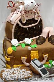 farfalle chocolate u0026 cakes lv bag suitcase shoe u0026 white torch cake